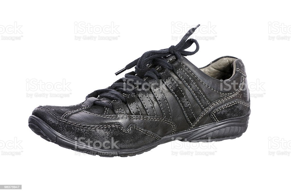 Shoes man's royalty-free stock photo