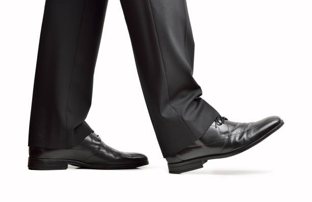 shoes of a businessman - men shoes stock pictures, royalty-free photos & images