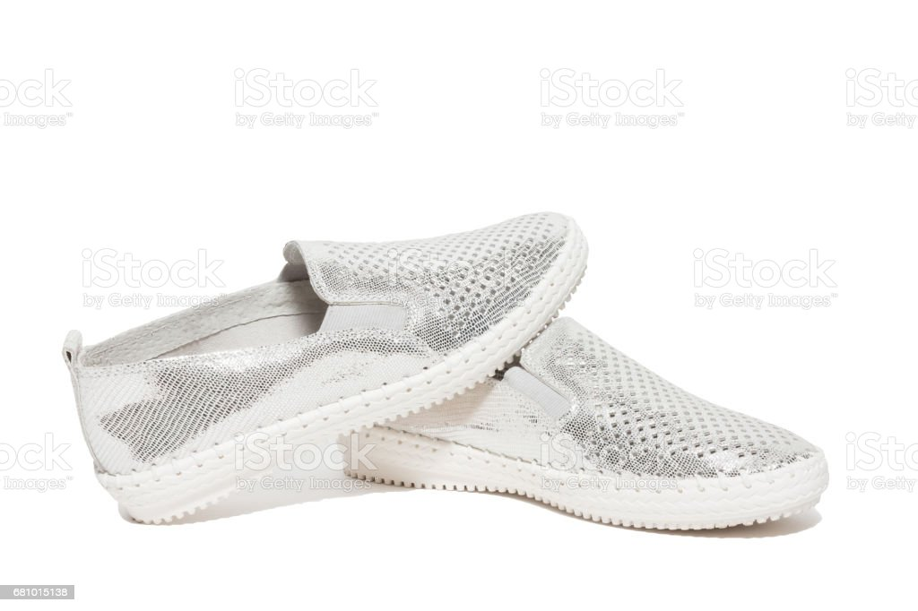 shoes on a white background royalty-free stock photo