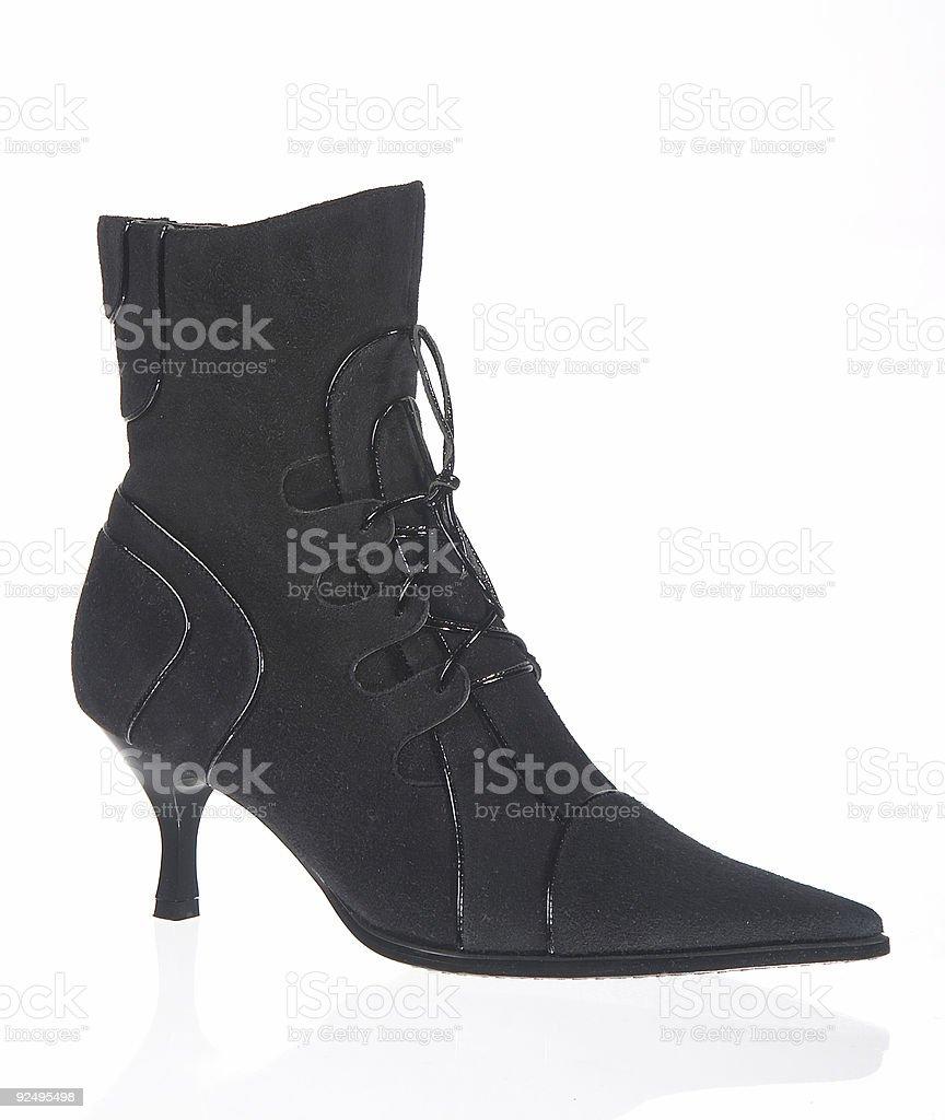 Shoes on white background royalty-free stock photo