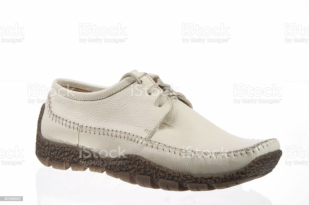 shoes on white background royalty-free stock photo