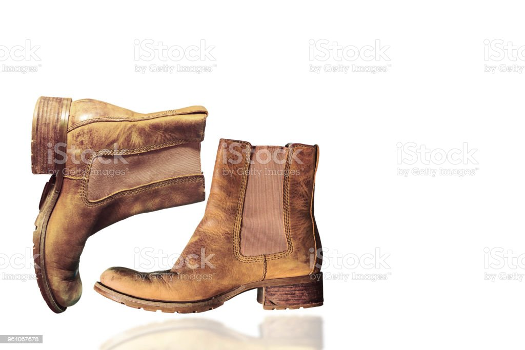shoes on white background - Royalty-free Army Stock Photo