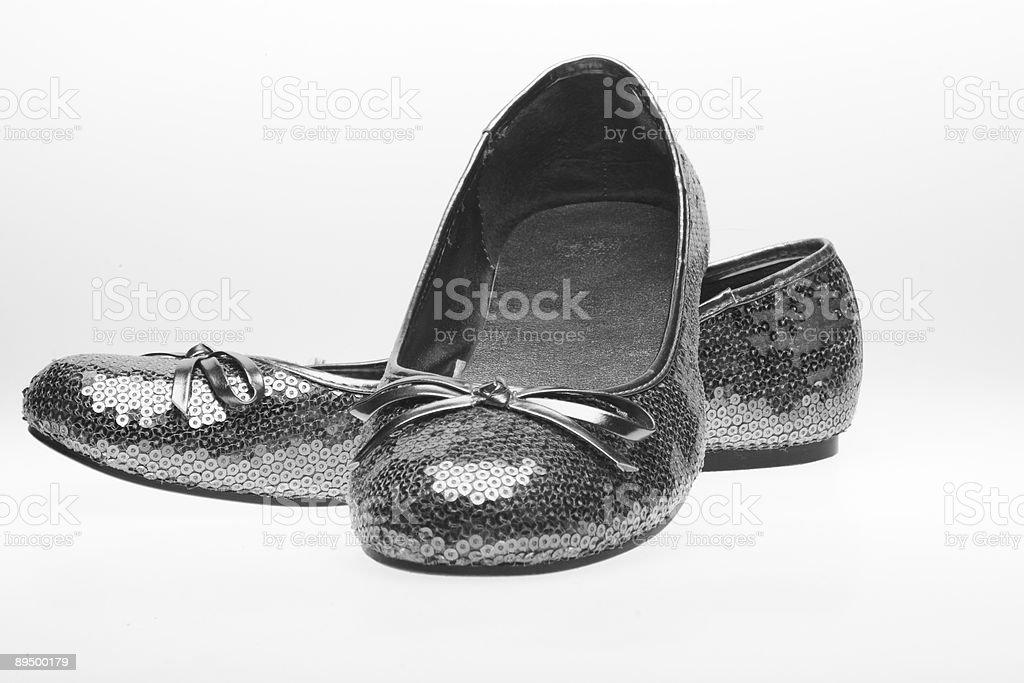 Shoes on white royaltyfri bildbanksbilder
