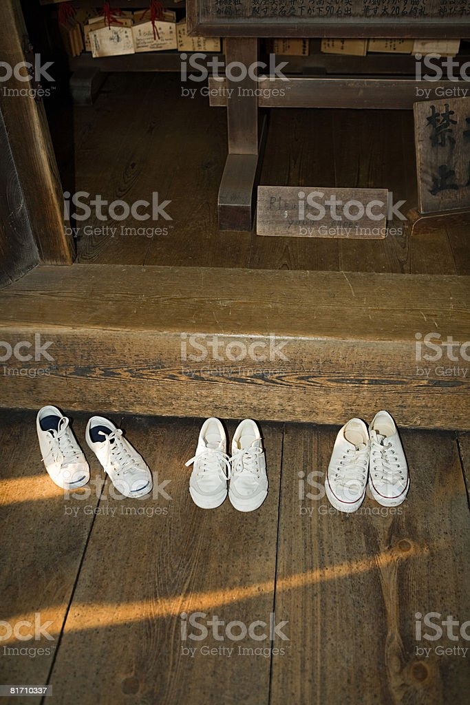 靴の寺院 ロイヤリティフリーストックフォト