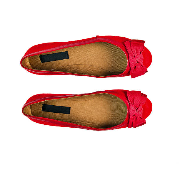 shoes - flat shoe stock photos and pictures