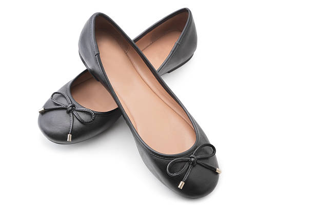 shoes - flat shoe stock pictures, royalty-free photos & images