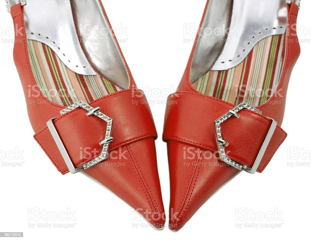 shoes red women royalty-free stock photo