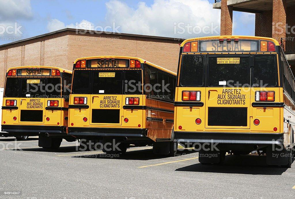 Shool Bus royalty-free stock photo