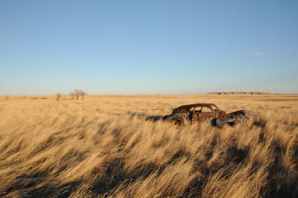 shoot out in south dakota - great plains stock photos and pictures