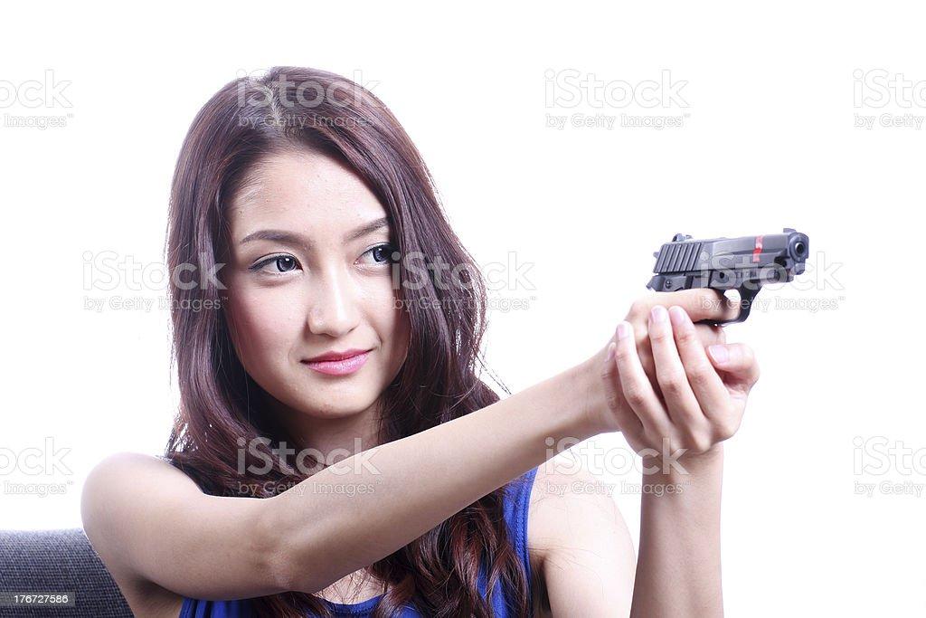 Shoot them up royalty-free stock photo