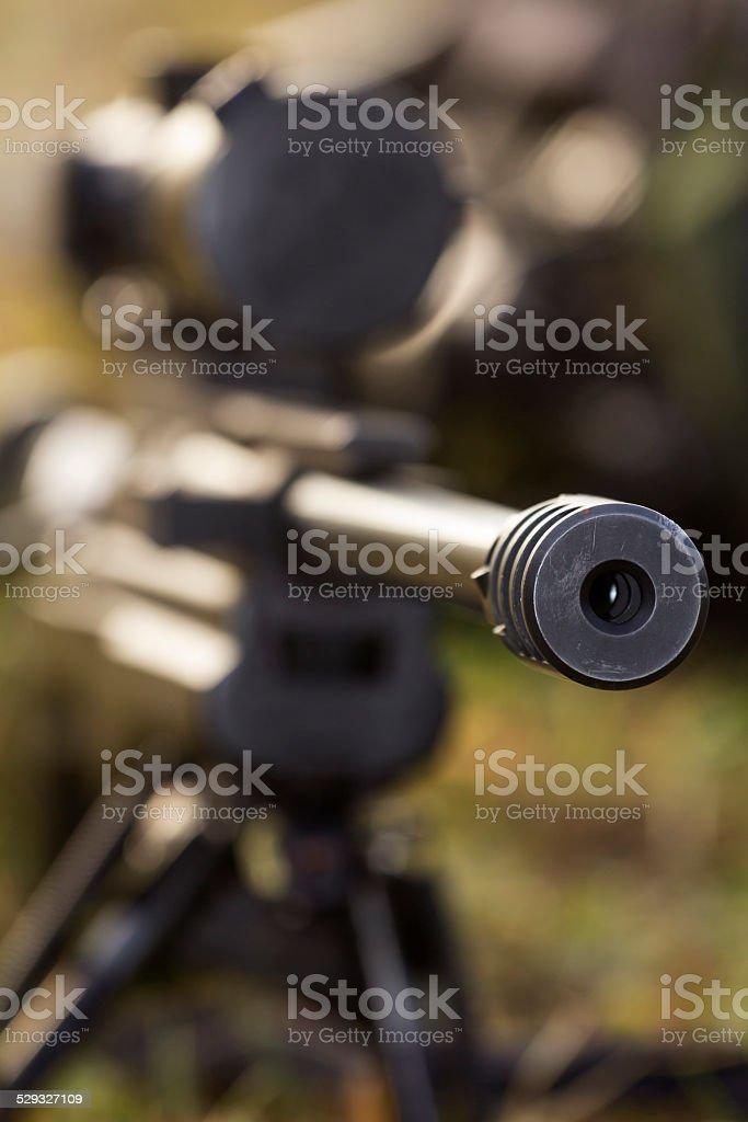 shooter stock photo