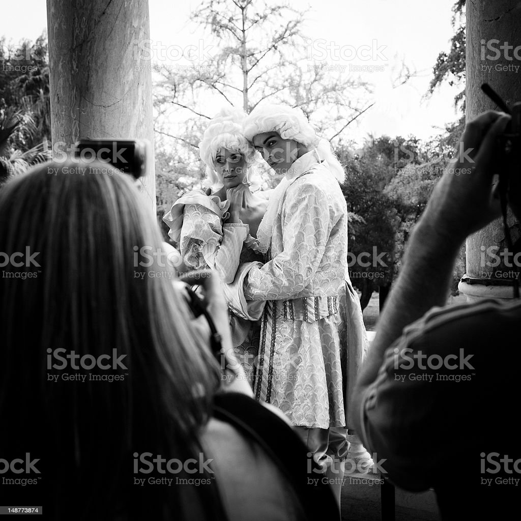 Shooting at Marie Antoinette royalty-free stock photo