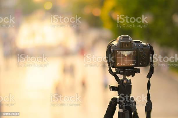 Shooting At The Square Stockfoto und mehr Bilder von Digitalkamera