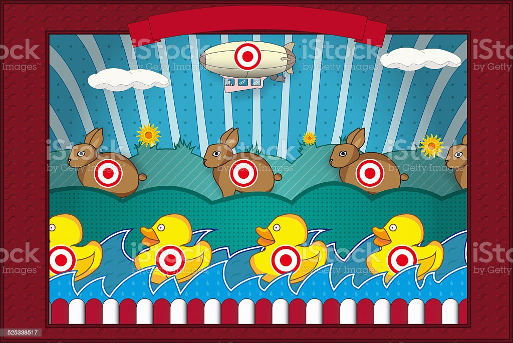 Shooting Gallery stock photo