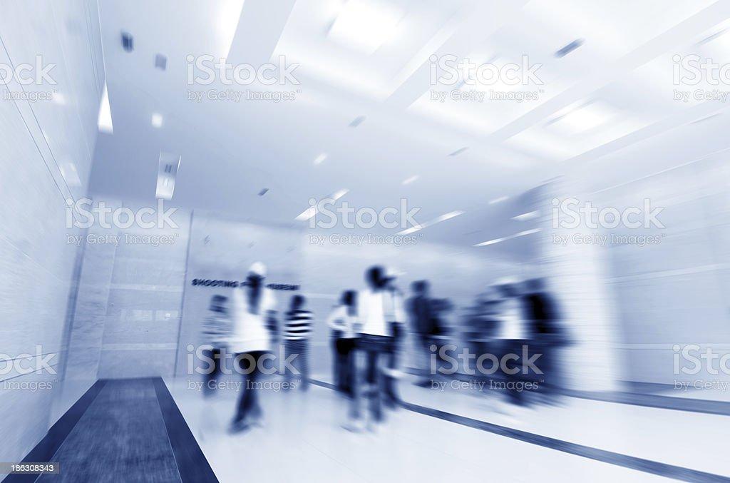 Shooting Gallery's corridor stock photo