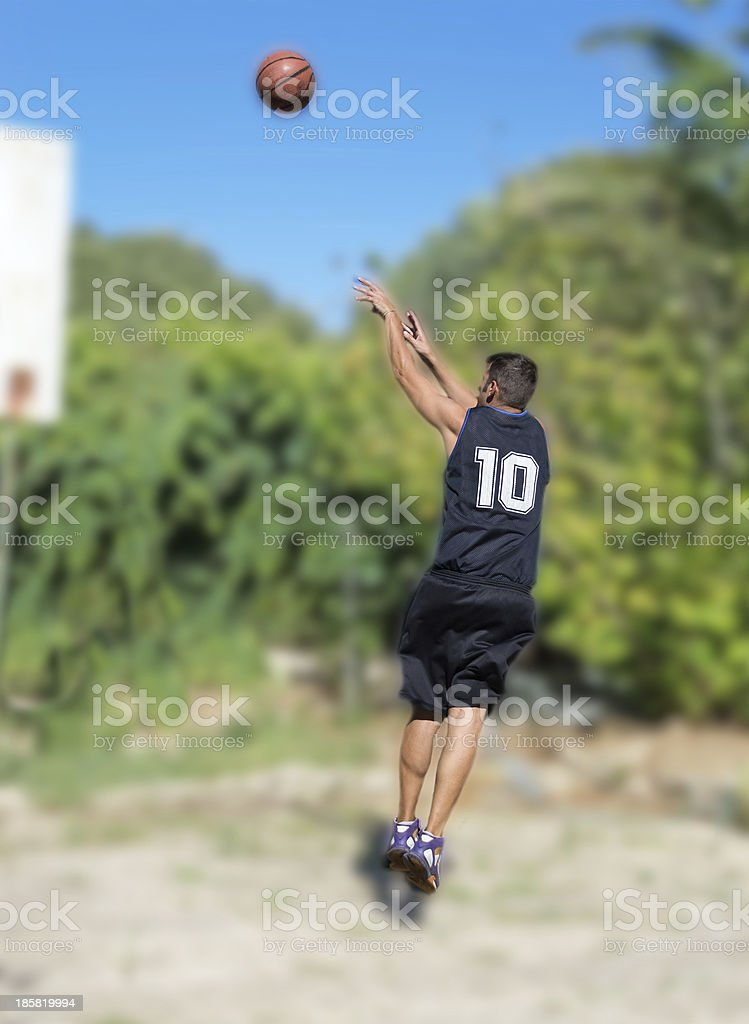shooting in the playground royalty-free stock photo