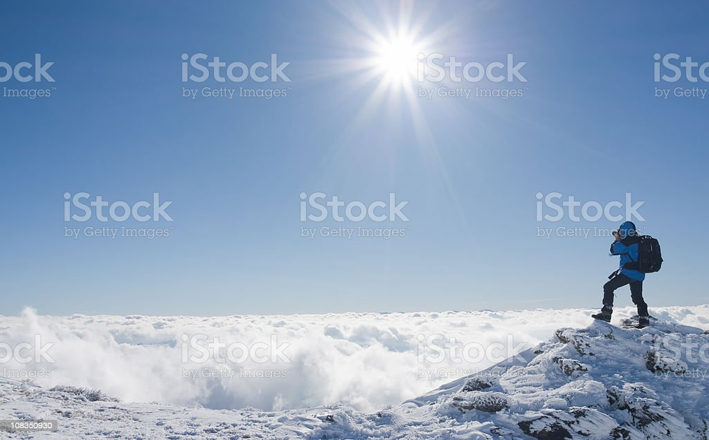 Shooting Landscape royalty-free stock photo
