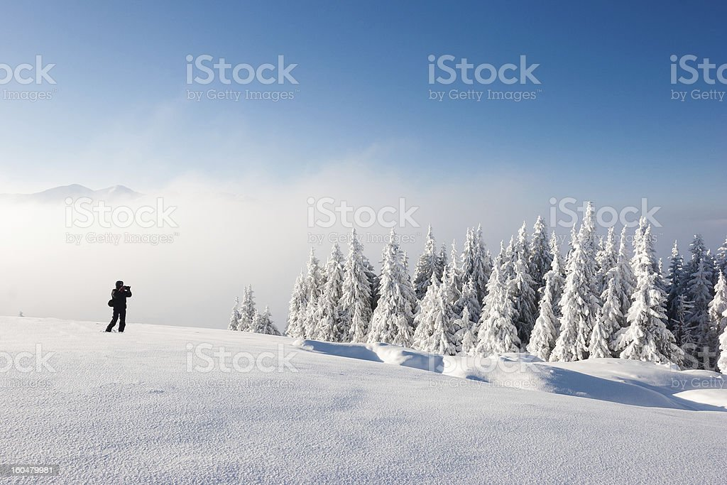 Shooting Landscape royalty-free stock photo