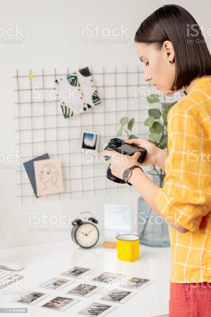 Fotosammlung fotografieren - Lizenzfrei Arbeiten Stock-Foto