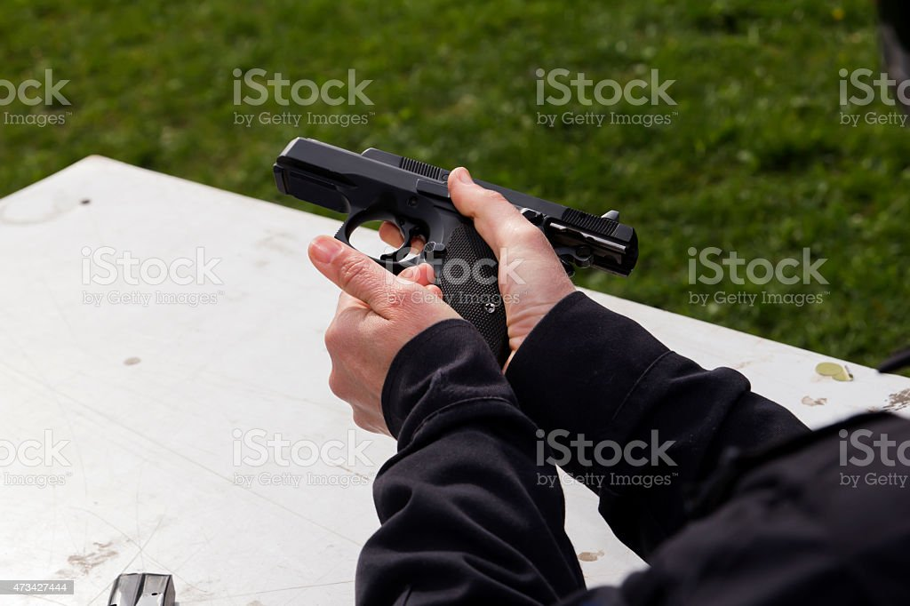 shooting stock photo