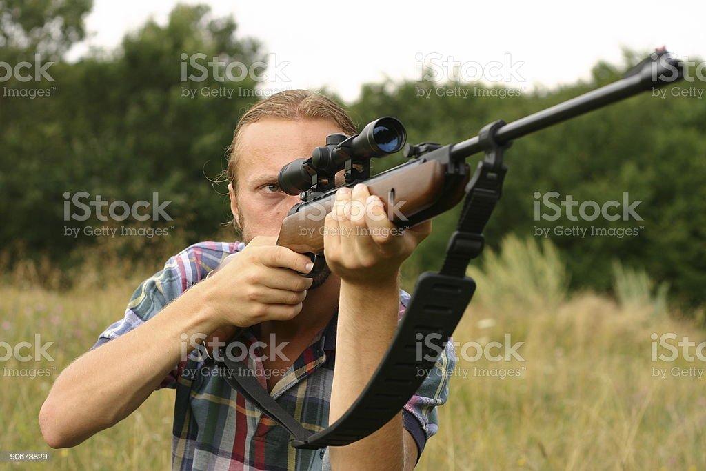 Shooting royalty-free stock photo