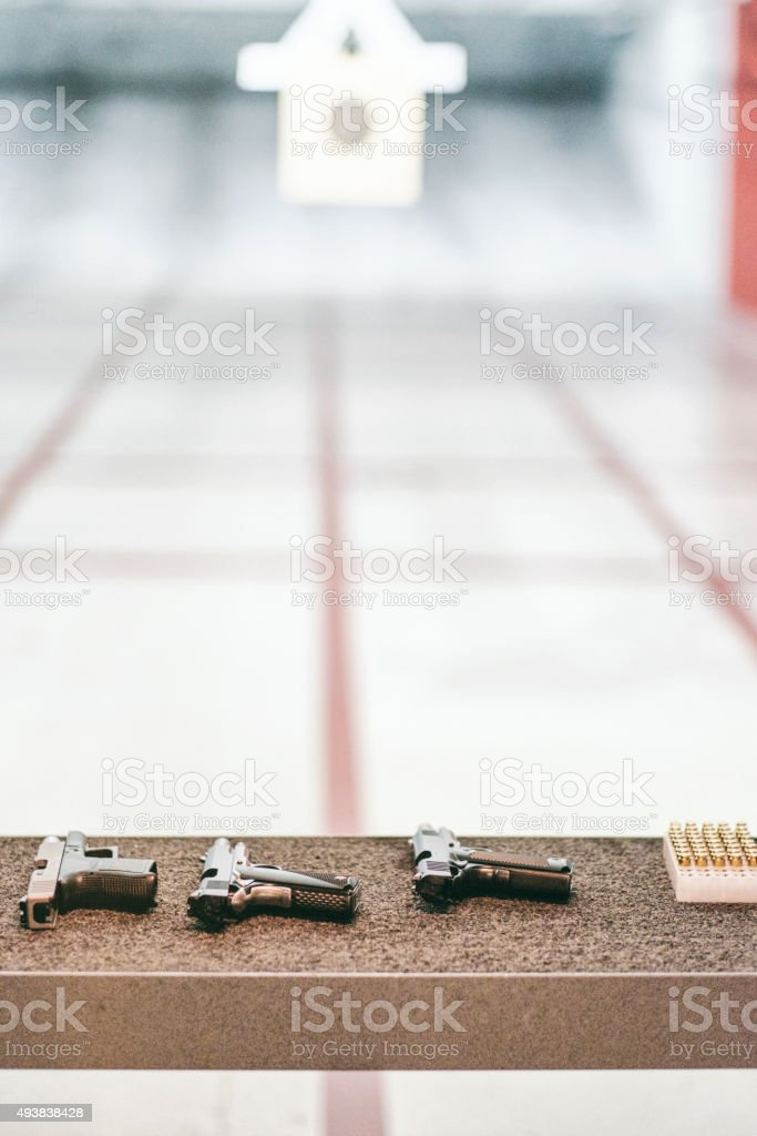 Shooting Range stock photo