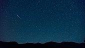 Shooting star near the Big Dipper, Engadine