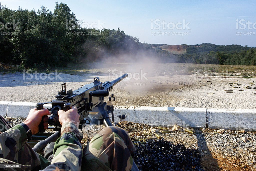 Shooting targer stock photo