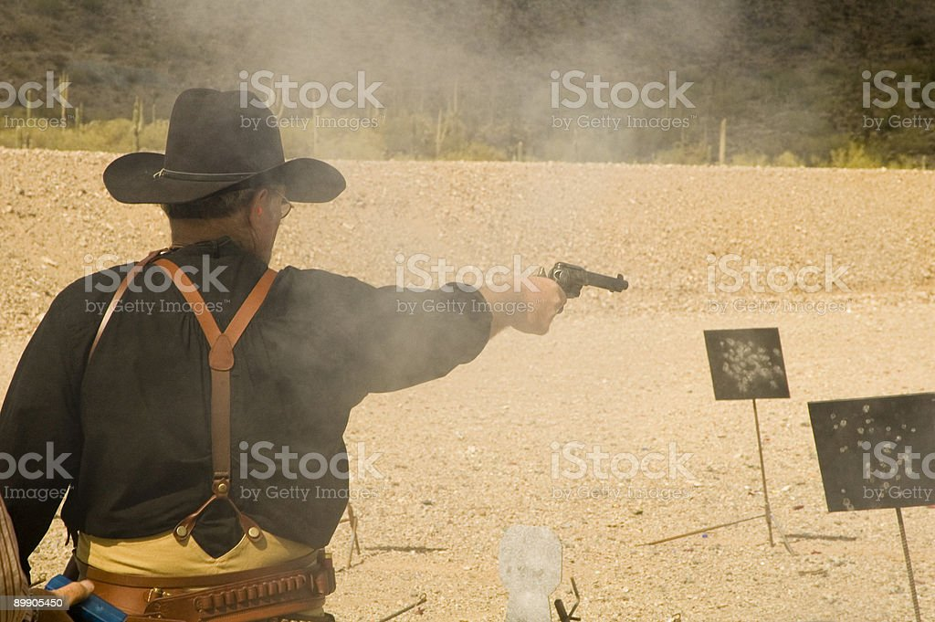 shooting targets 4 stock photo