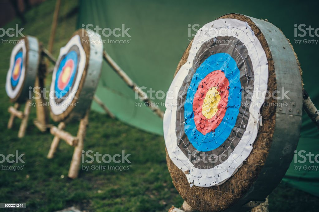 Shooting targets in Cracov. Poland. No people.
