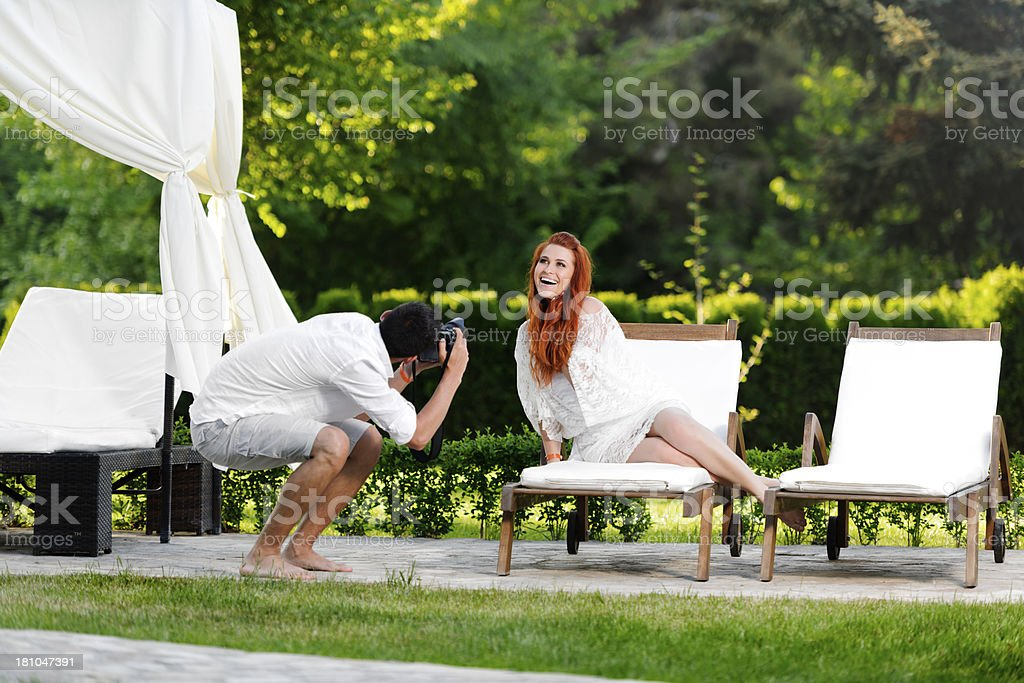 shooting time royalty-free stock photo