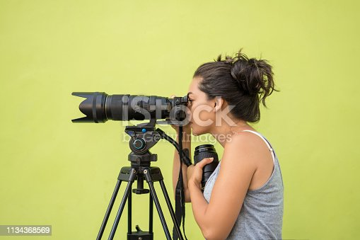 Camera - Photographic Equipment, Adult, Photographer, Working, Photography