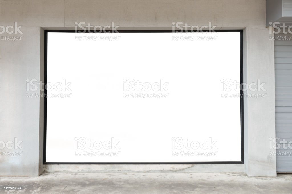 Shop Boutique Store Front with Big Window and Place for Name - Royalty-free Architecture Stock Photo