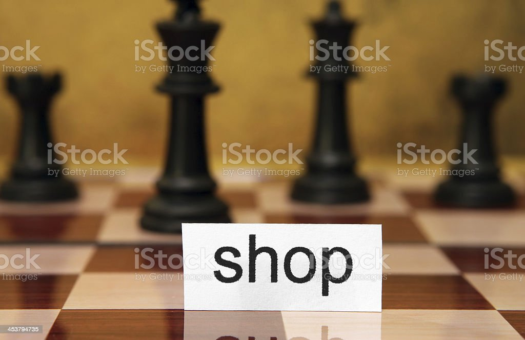 Shop concept royalty-free stock photo