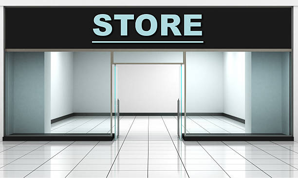 shop front. - store window stock pictures, royalty-free photos & images