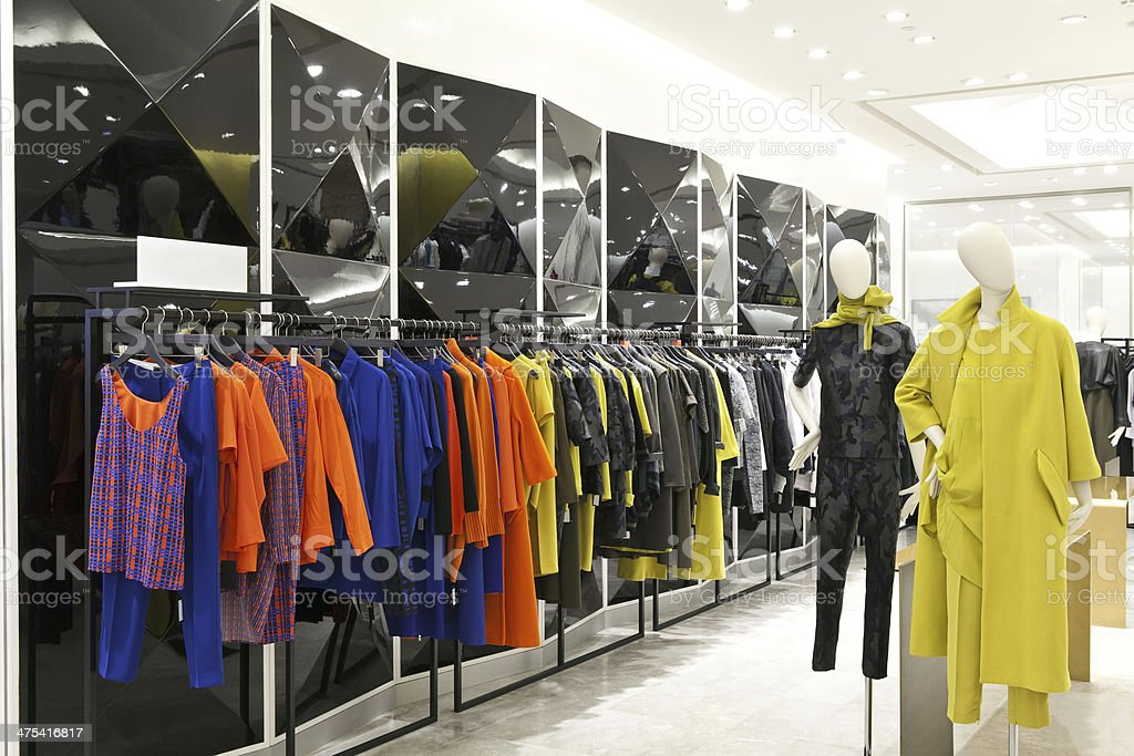 Shop interior stock photo