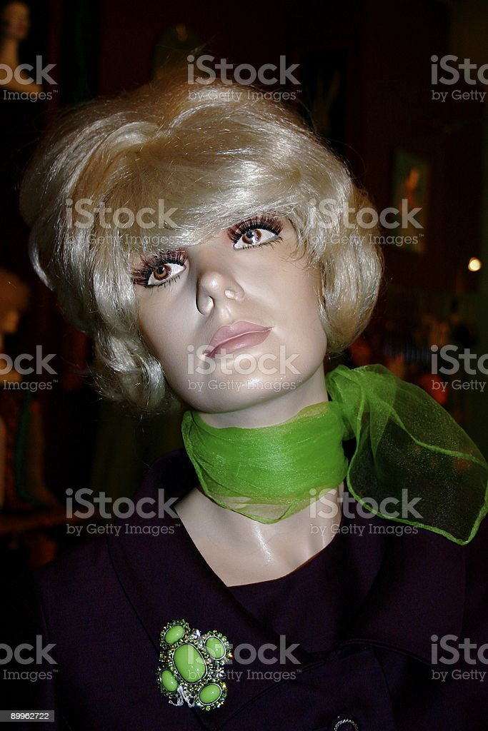 Shop Mannequin royalty-free stock photo