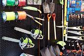 istock Shop of garden equipment 1186870727