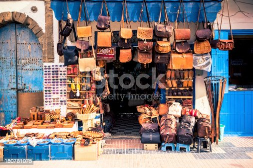 Traditional shop in Morocco