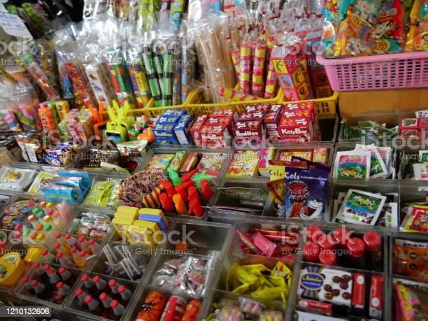 Candy shop asian Korean Snack