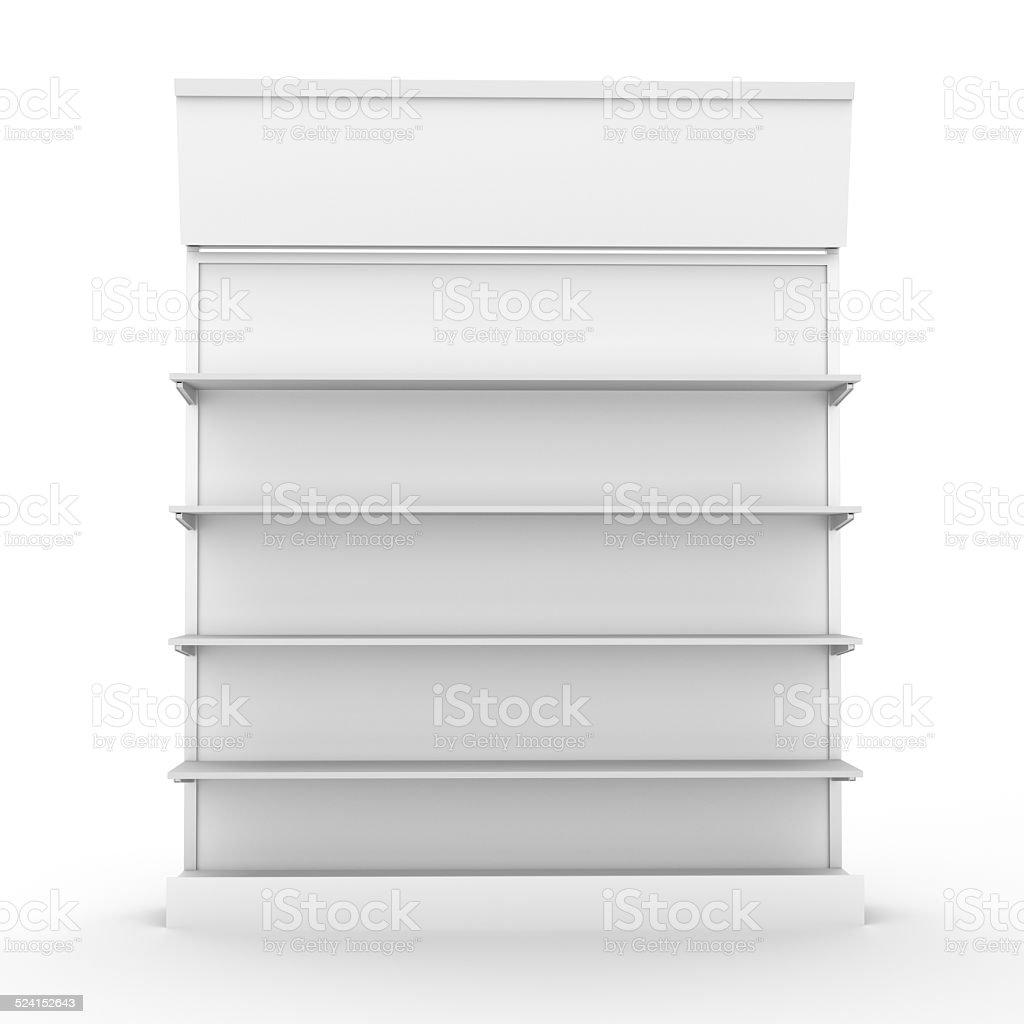 shop shelf stock photo