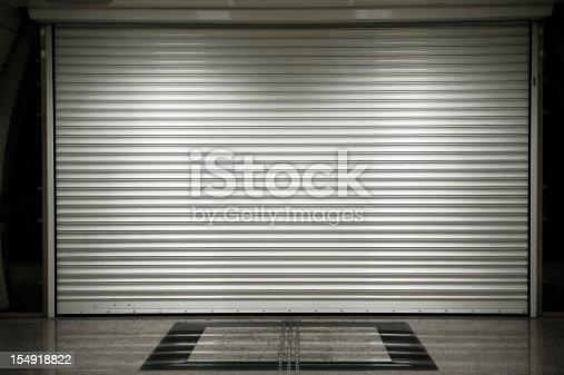 istock Shop shutters 154918822