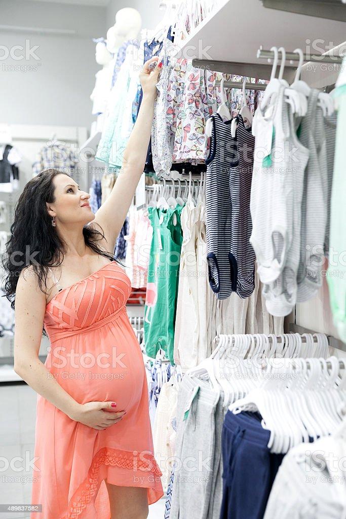 Shop until you drop! stock photo