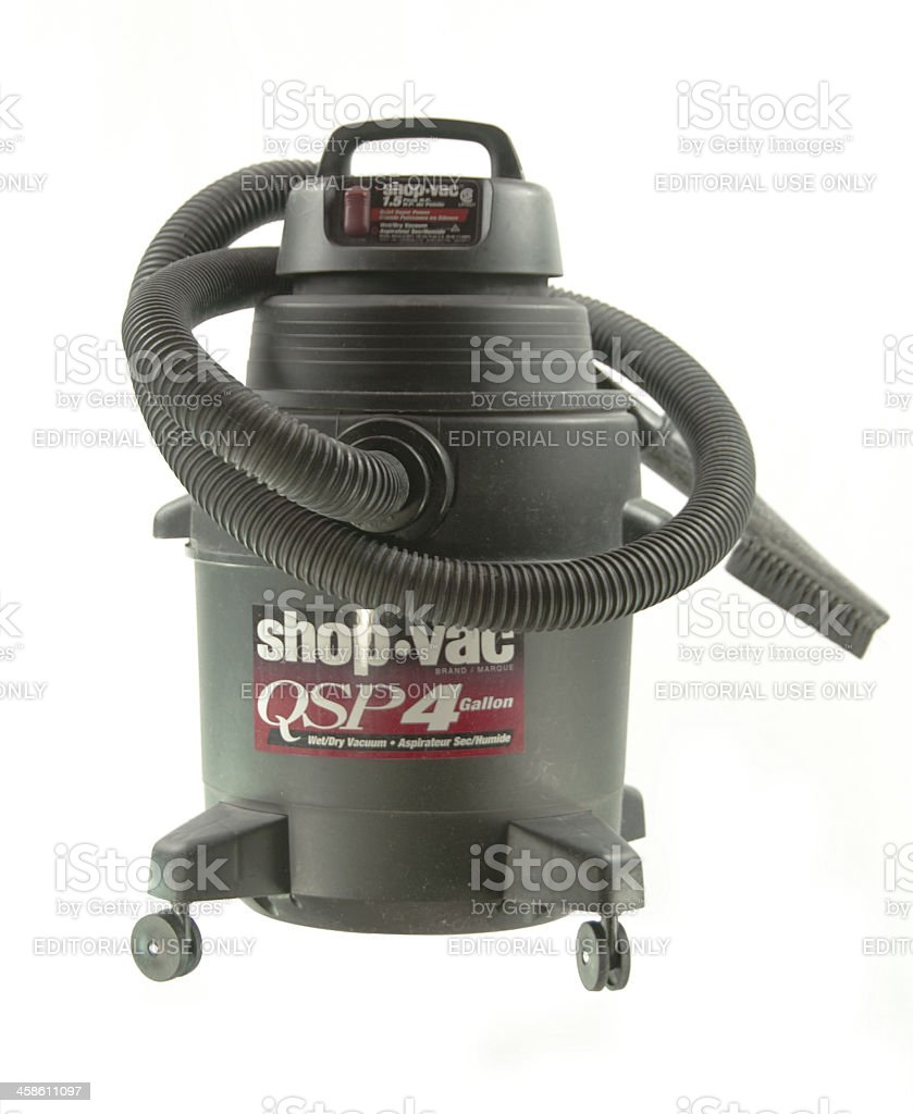 Shop Vac Isolated royalty-free stock photo