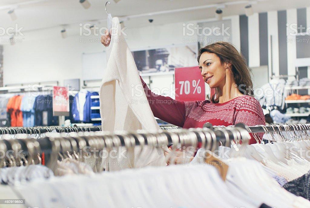 Shopaholic paradise. royalty-free stock photo