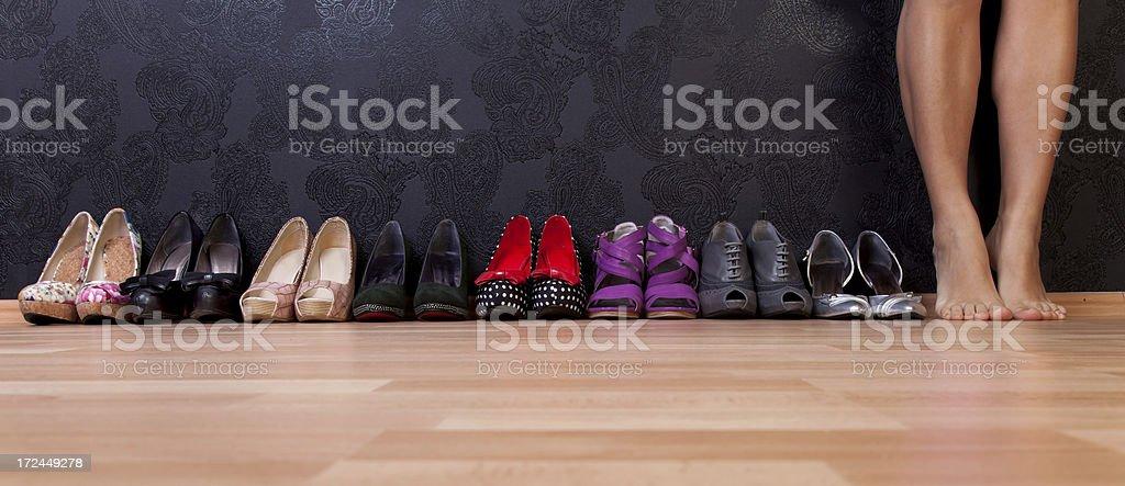 shopaholic royalty-free stock photo