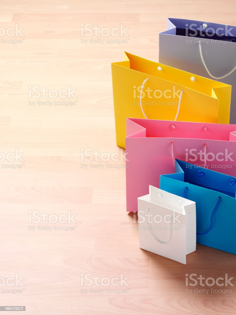 Shopped Out royalty-free stock photo