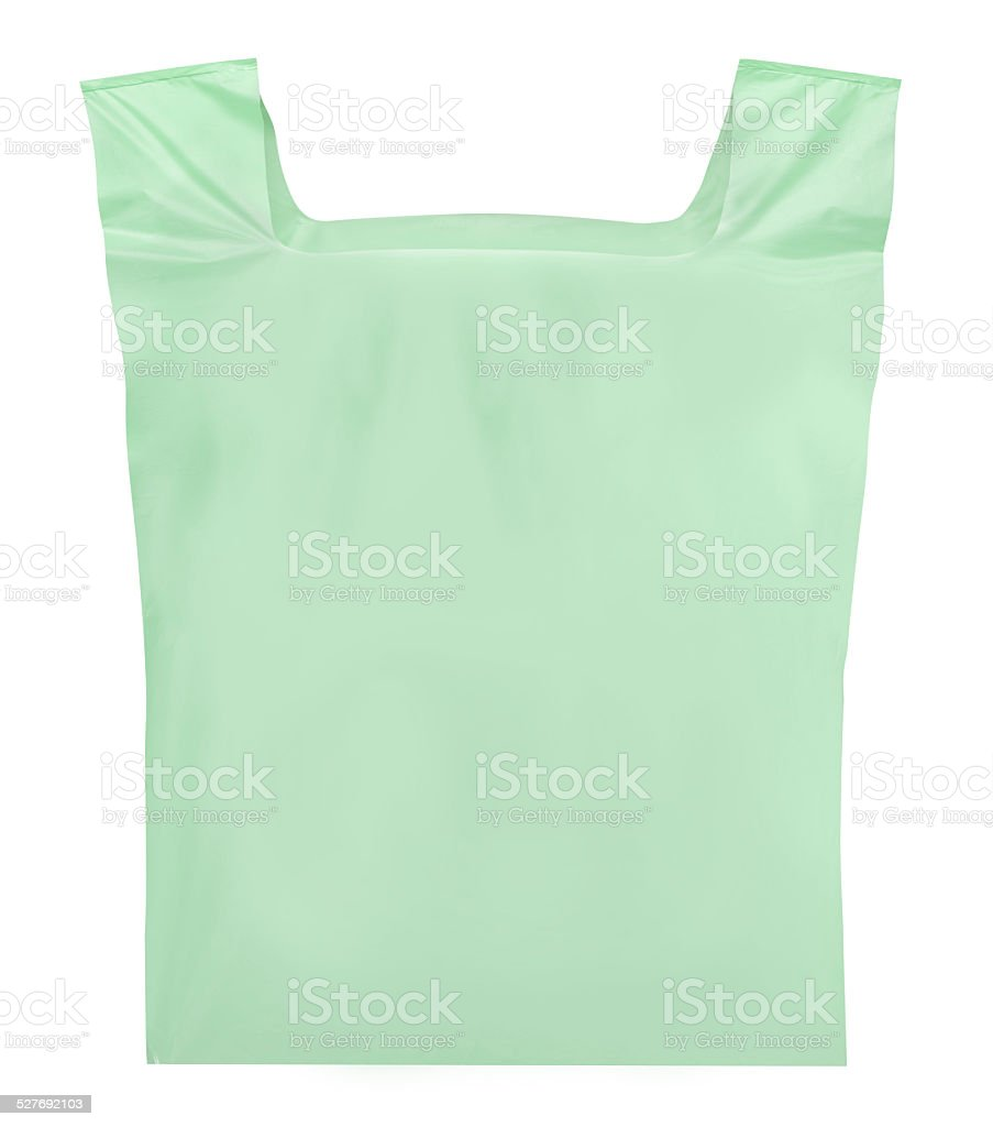 Shopper bag plastic stock photo