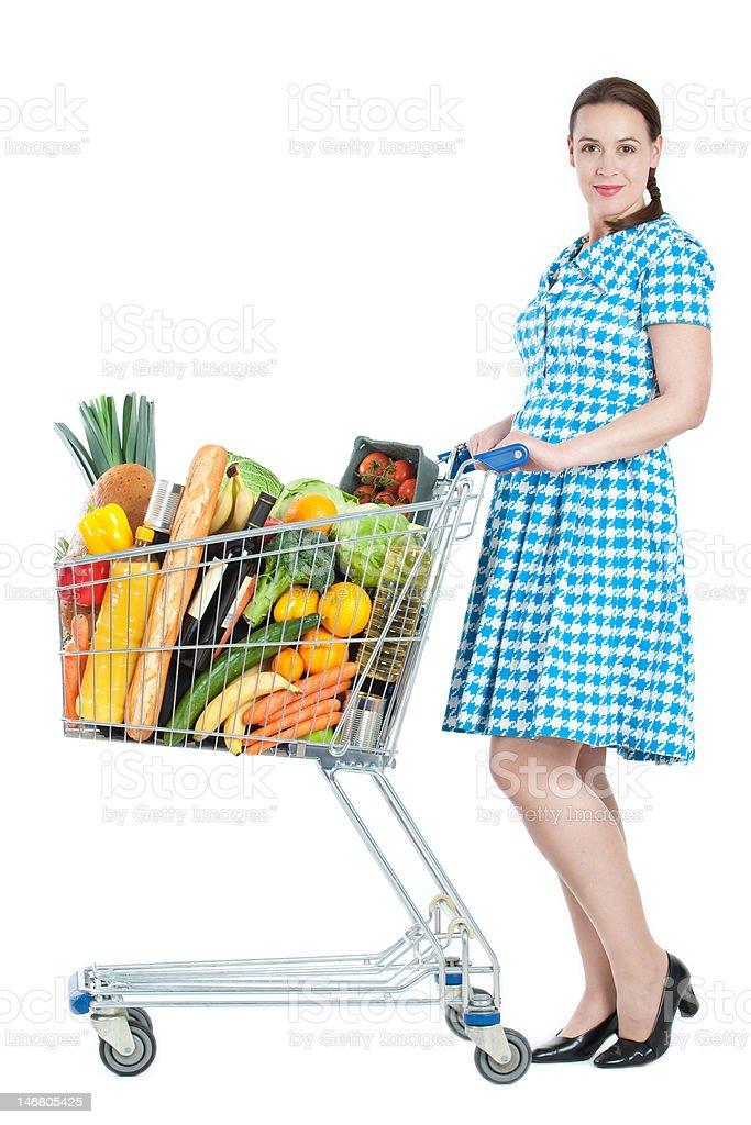 Shopper stock photo