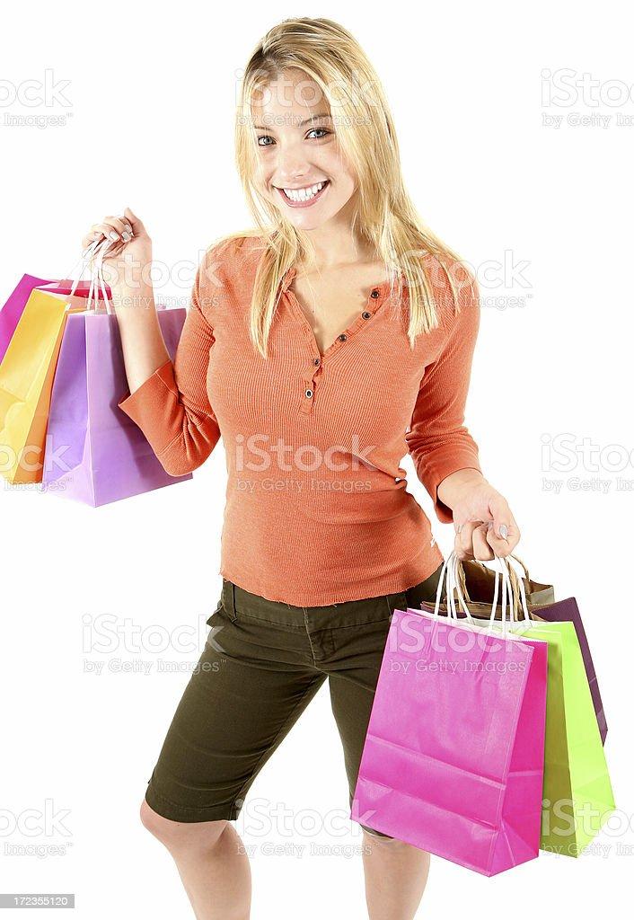 Shopper royalty-free stock photo